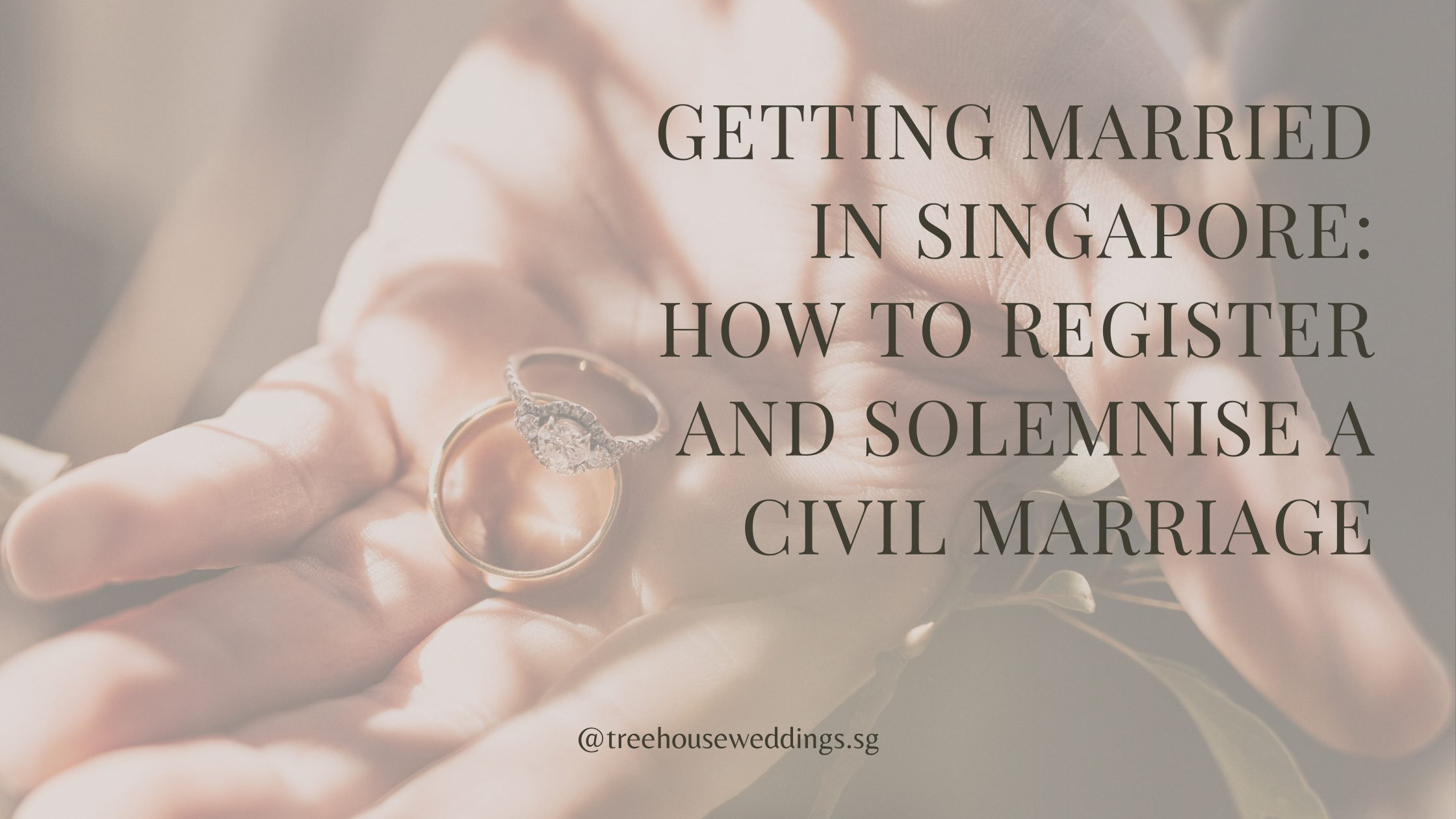 Blog post: Step-by-step guide on getting married in Singapore